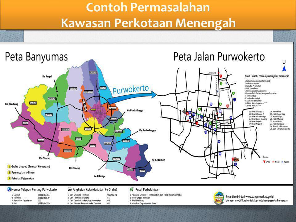 Contoh Permasalahan Kawasan Perkotaan Menengah
