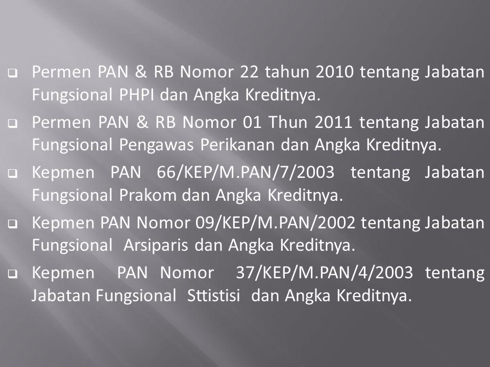  PP 15 TAHUN 2002 tentang Karantina Ikan ( Ps. 60 (1) Pelaksanaan tindakan karantina dilakukan oleh petugas karantina. (2) Petugas karantina sebagaim