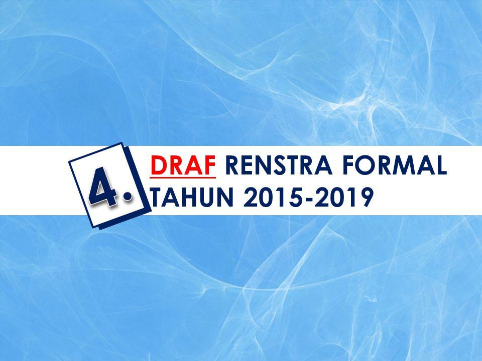 DRAF RENSTRA FORMAL TAHUN 2015-2019