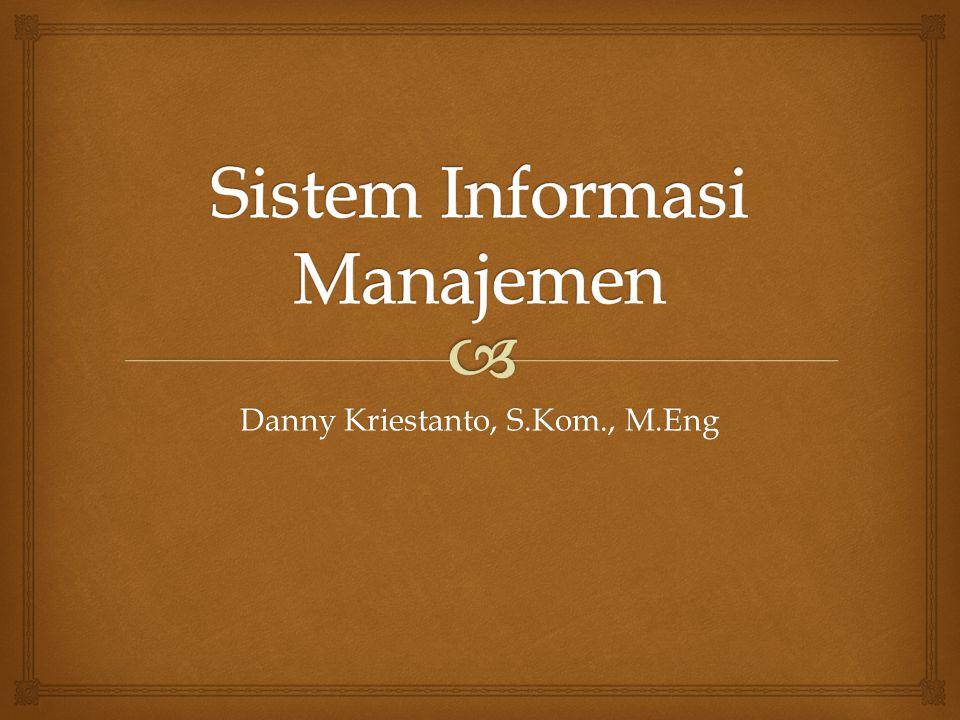  Tahap Implementasi 1.Merencanakan Penerapan 2.Mengumumkan Penerapan 3.Mendapatkan Sumber Daya Perangkat Keras 4.Mendapatkan Sumber Daya Perangkat Lunak 5.Menyiapkan Database 6.Menyiapkan Fasilitas Fisik 7.Mendidik Peserta dan Pemakai 8.Masuk ke Sistem Baru