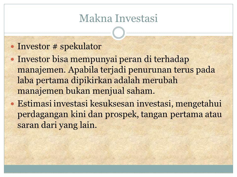 Menyiapkan prospek Sekuritas baru mungkin ditawarkan ke publik, penawaran oleh perusahaan itu, atau tawaran penjualan menggunakan mediasi (misal bank).