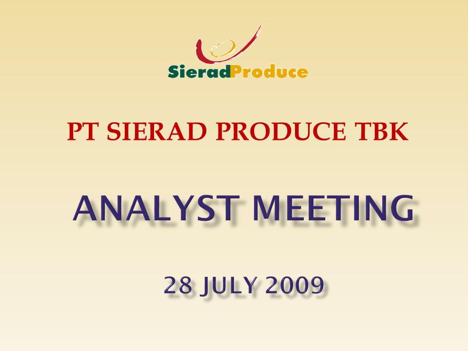 PT SIERAD PRODUCE TBK