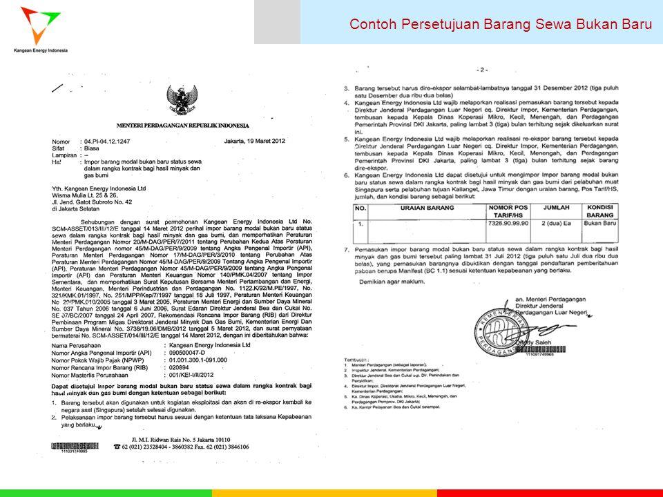 Contoh Form Pengajuan RKBI