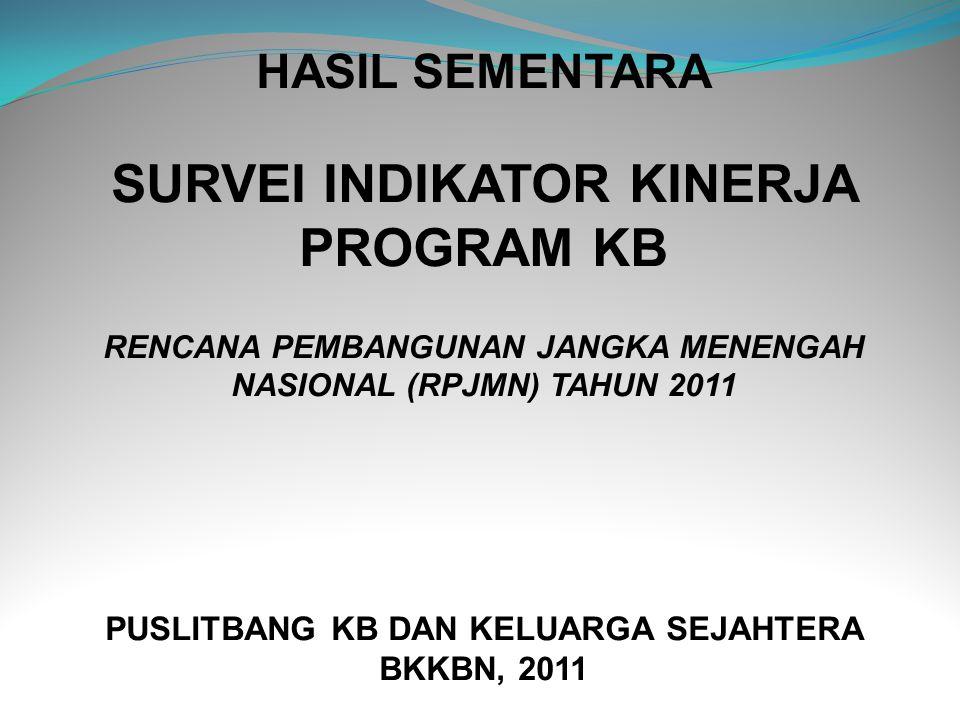 Persentase Keluarga dalam Pengalaman Pengasuhan dan Tumbuh Kembang Jiwa/Mental/Spiritual Anak Balita (< 6 tahun), Indonesia 2010-2011