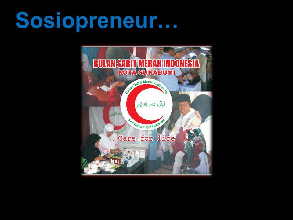 Sosiopreneur…