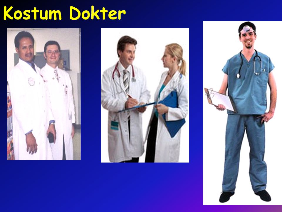 Siapa itu Dokter Seseorang yang: Memiliki pengetahuan kedokteran  Tamat FK Dapat melakukan Pertolongan Medik (M empraktekkan ilmu & ketrampilannya pada orang sakit ) Punya Surat Izin  SID (Surat izin Dokter)  STR (Surat tanda Registrasi)  SIP (Surat Izin Praktek) Punya Hak & Kewajiban