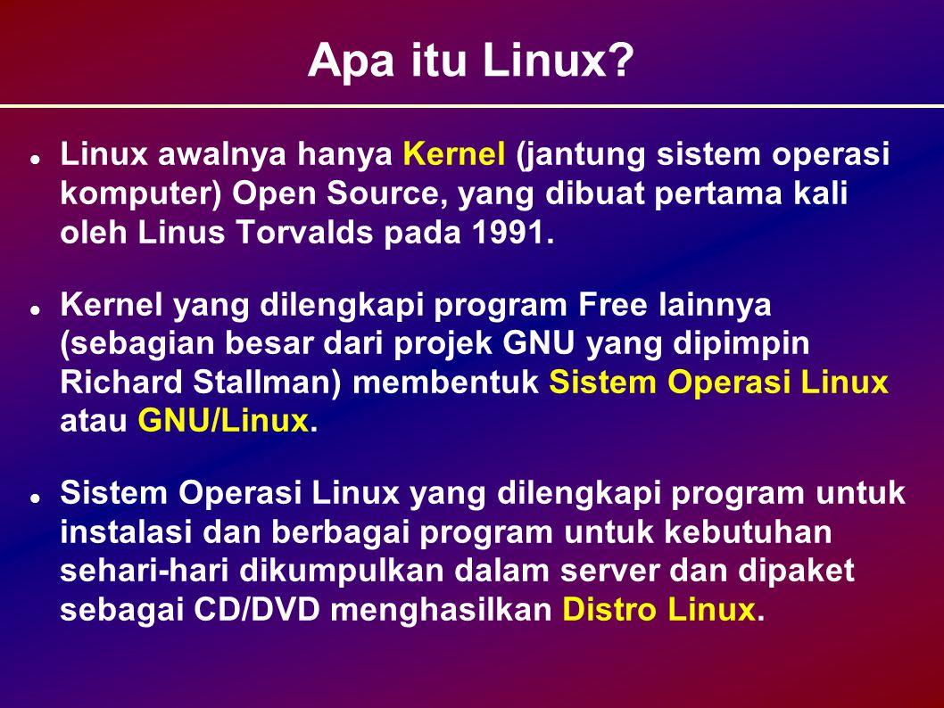 Apa itu Linux.