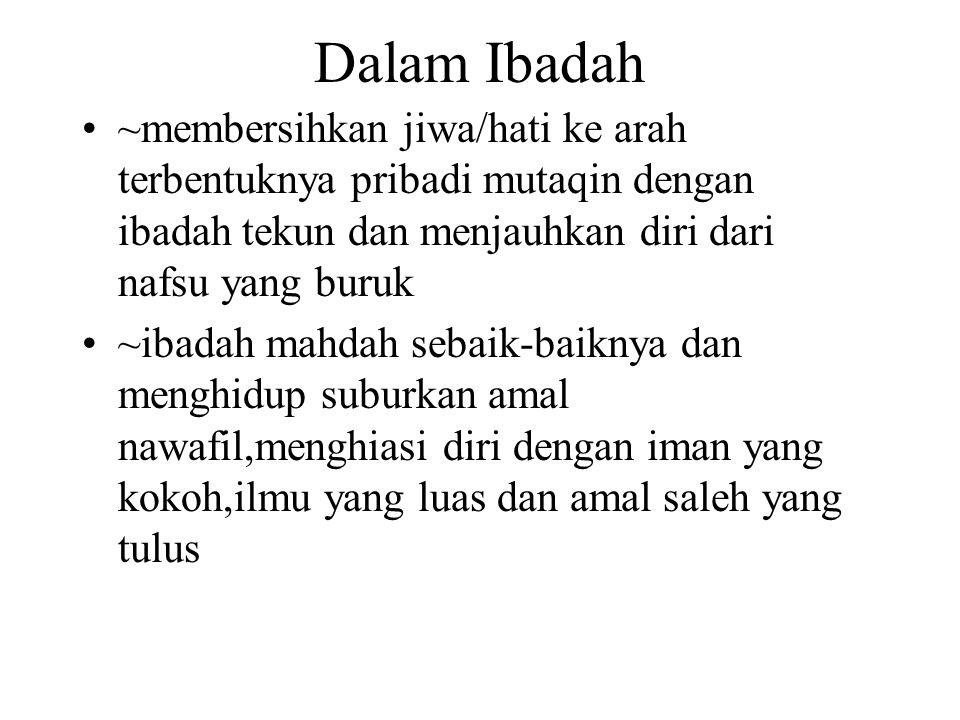 Lanjutan 15.Menjauhkan diri dari taqlid,syirik,bid'ah,takhayul dan khurafat 16.Pimpinan Persyarikatan harus menunjukkan akhlak pribadi muslim dan mampu membina keluarga Islami