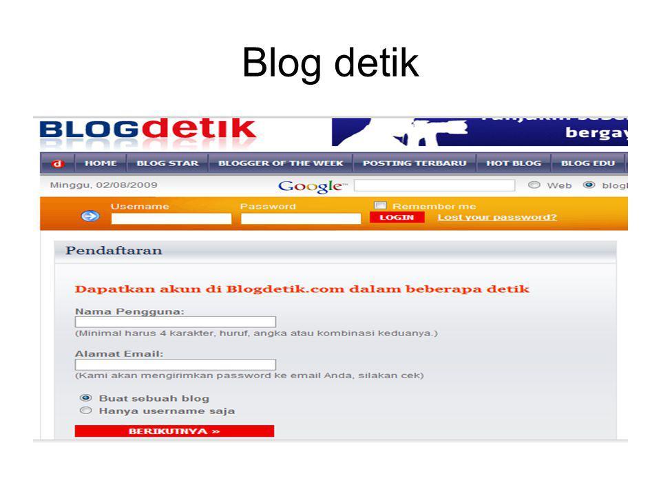 Blog detik