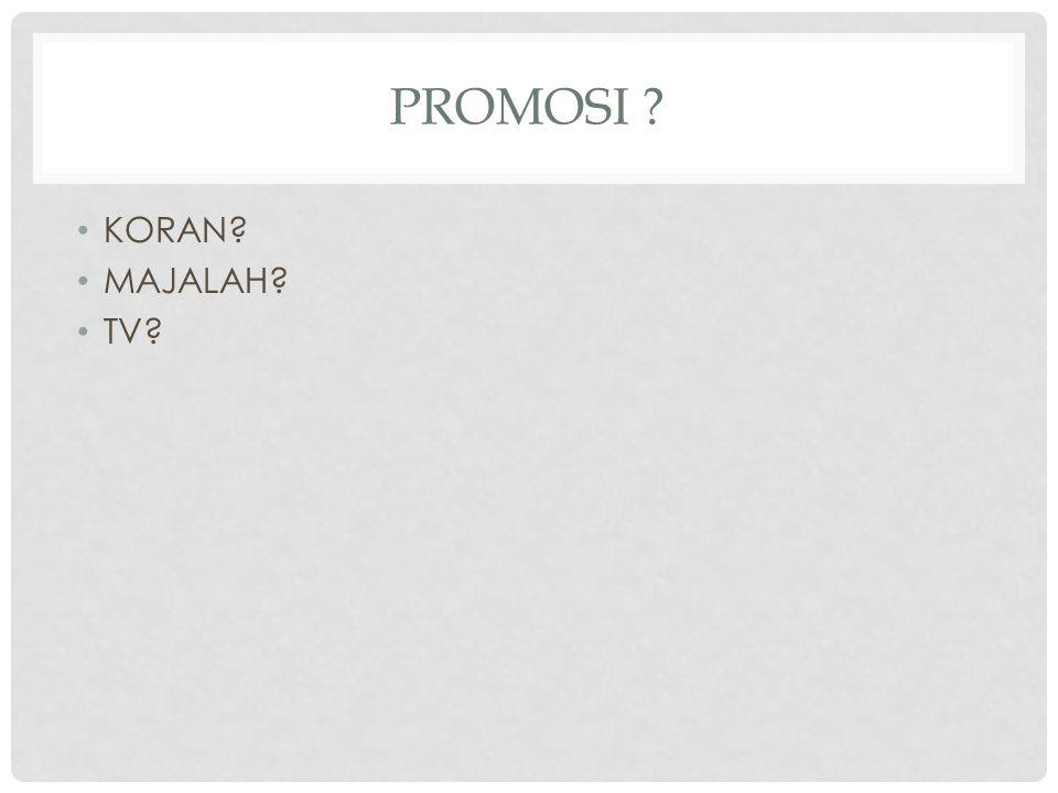 PROMOSI DI INTERNET MURAH MUDAH CERAH