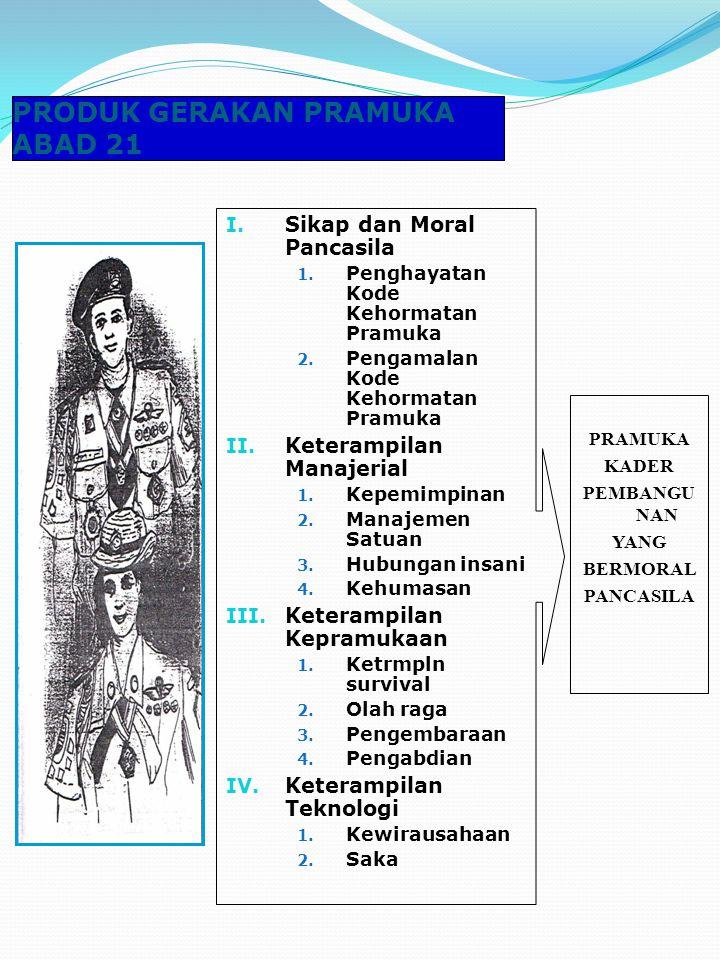 Pramuka T/D Pa dan T/D Pi dihimpun dalam Gudep terpisah Pramuka T/D penyandang cacat disebut Pramuka Luar Biasa dihimpun dalam Gudep tersendiri/khusus
