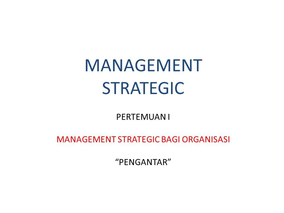 Defining strategic management Suatu Hari ada dua orang president perusahaan yang berlibur bersama ke tengah hutan alaska....