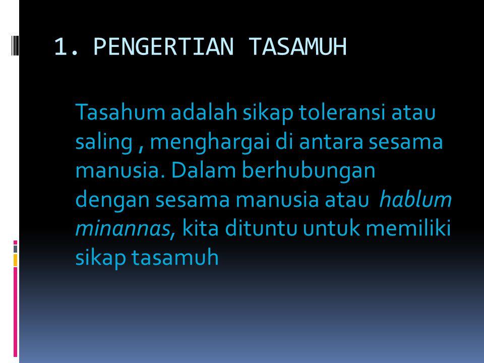B.TASAMUH