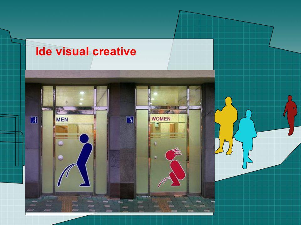 Ide visual creative