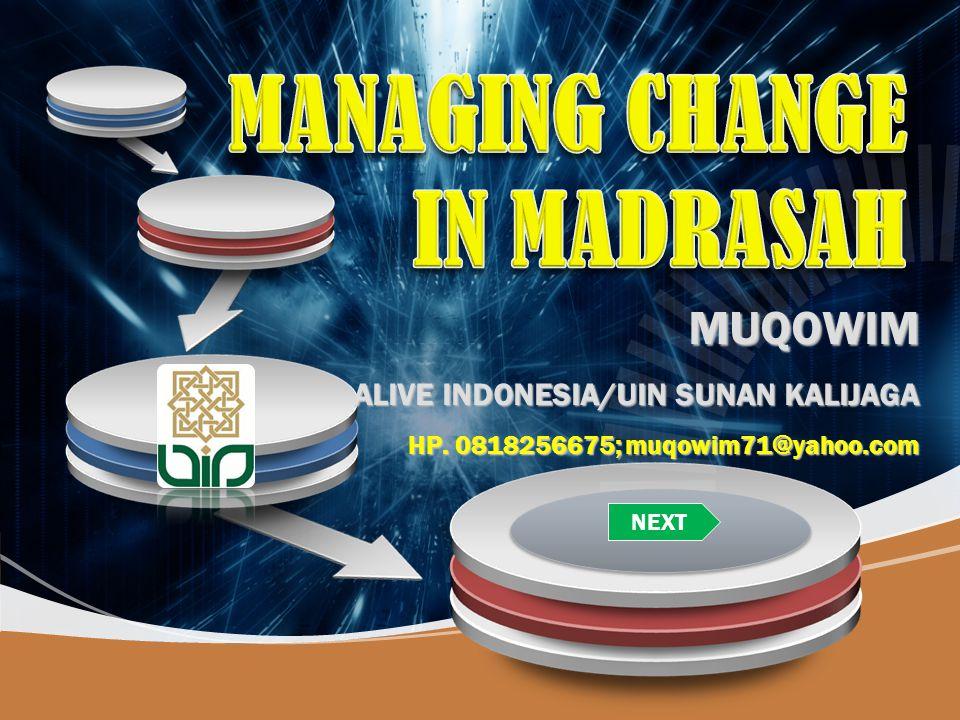 Company LOGO MUQOWIM ALIVE INDONESIA/UIN SUNAN KALIJAGA HP. 0818256675; muqowim71@yahoo.com NEXT