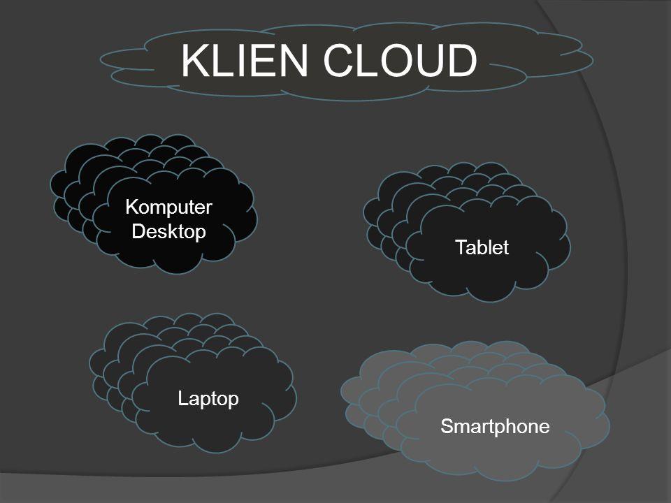 KLIEN CLOUD Komputer Desktop TabletLaptopSmartphone