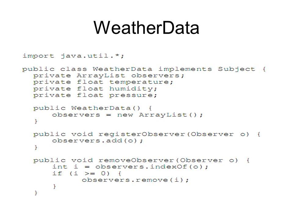 WeatherData