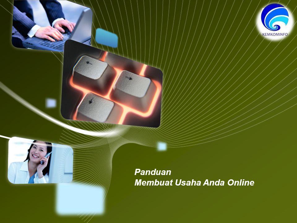LOGO Panduan Membuat Usaha Anda Online