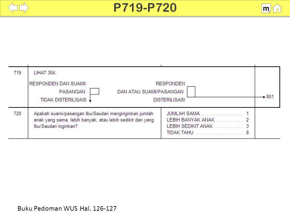 100% SDKI 2012 P719-P720 m Buku Pedoman WUS Hal. 126-127