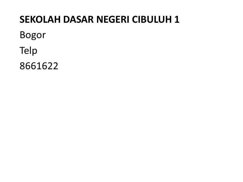 Bogor Telp 8661622