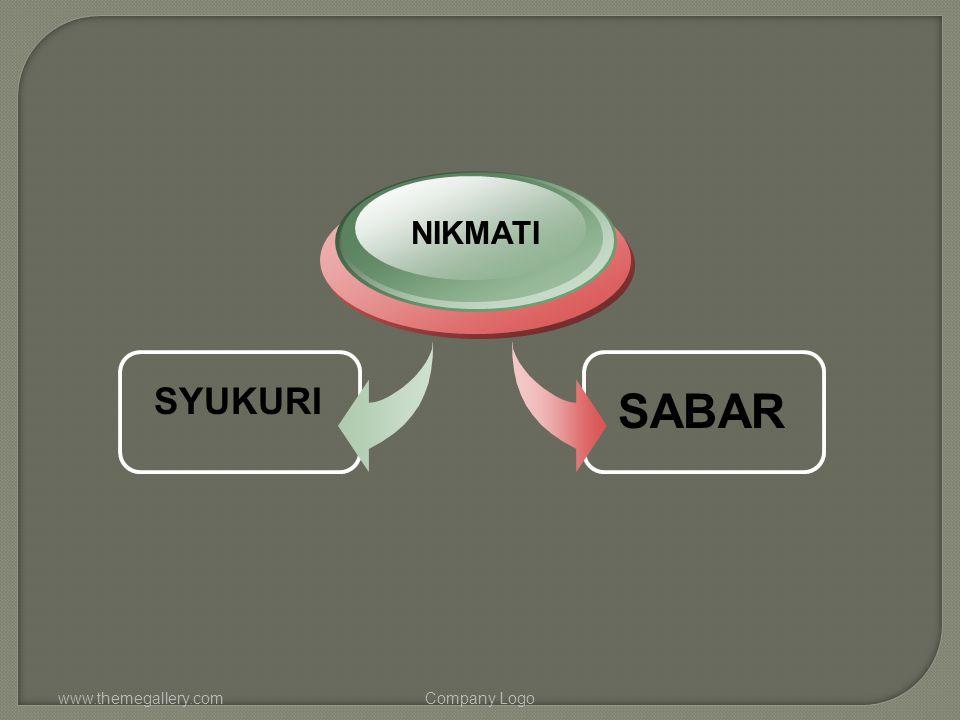 www.themegallery.comCompany Logo SYUKURI NIKMATI SABAR