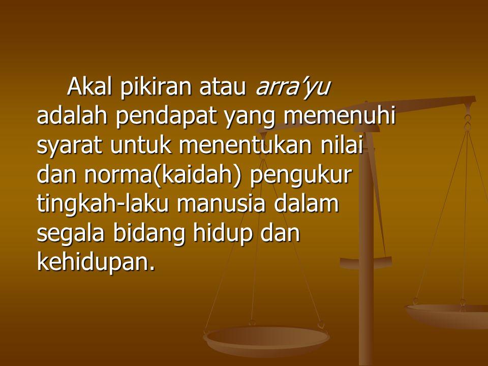 Kesimpulan hadits Mu'adz bin Jabal: 1.
