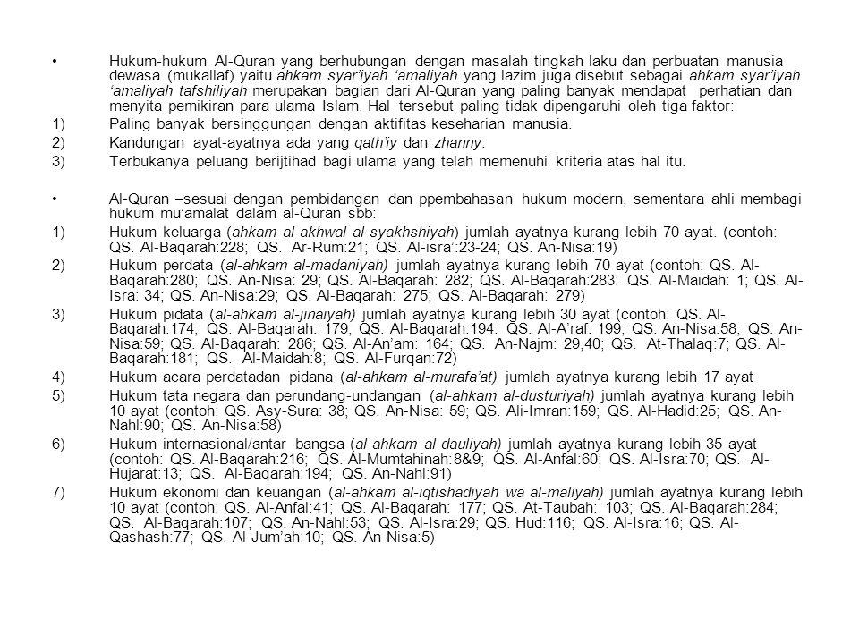 As-Sunnah/Hadits Pengertian: Bahasa: sistem/cara atau lawan dari bid'ah قال صلى الله عليه وسلم: عليكم بسنتي وسنة الخلفاء الراشدين من بعدي.