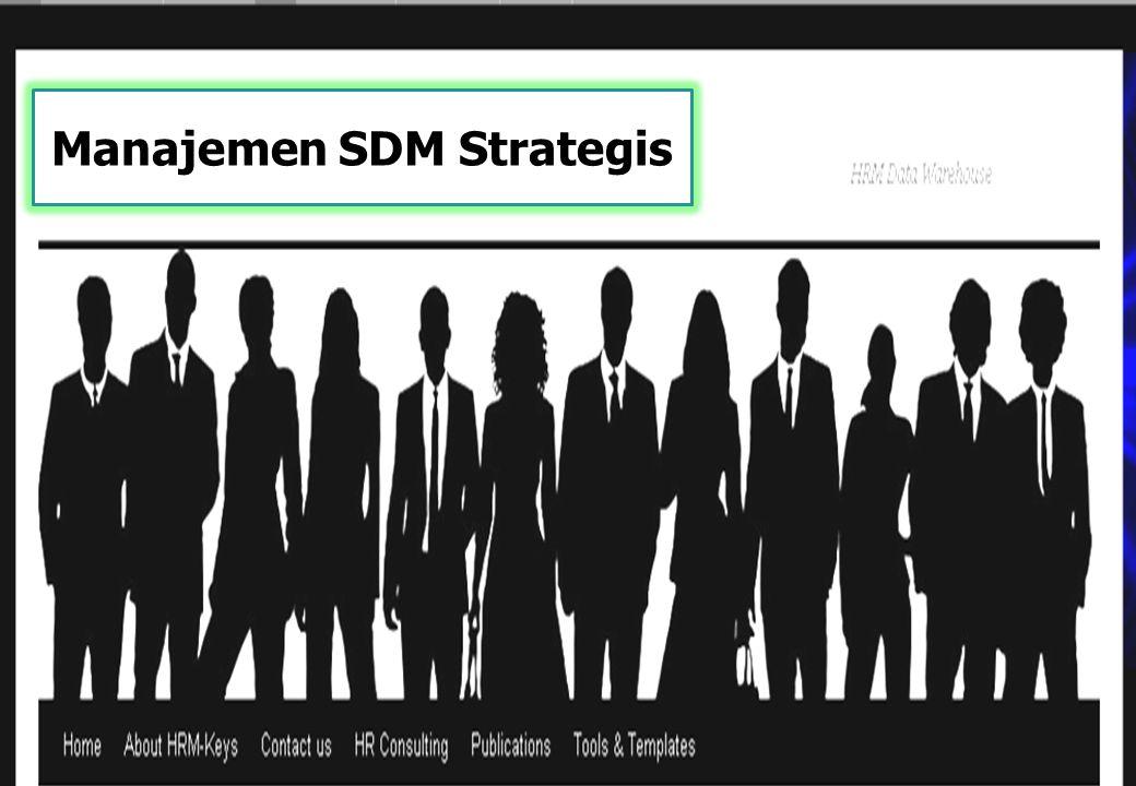 Manajemen SDM Strategis