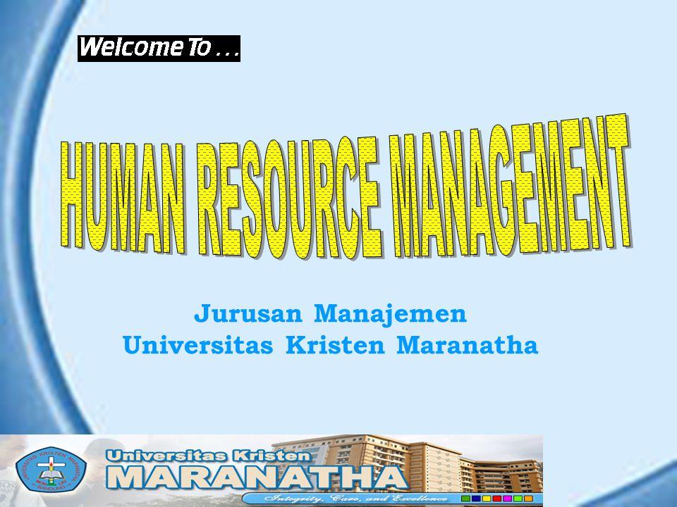 Jurusan Manajemen Universitas Kristen Maranatha