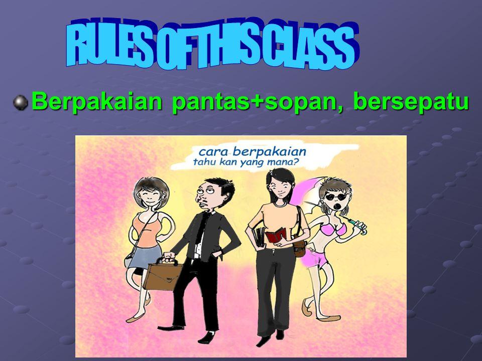Mahasiswa/i diwajibkan mengerjakan 3 buah tugas kelompok: –Presentasi Chapter.