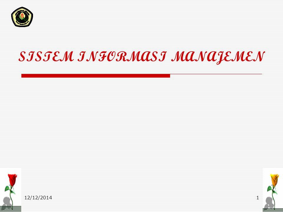 12/12/2014ASR 0712 Manajer dan Sistem SISTEM  Sekelompok elemen yang terintegrasi dengan maksud yang sama untuk mencapai suatu tujuan Elemen Sistem 1.Input 2.Output 3.Transformasi 4.Mekanisme pengendalian 5.Tujuan