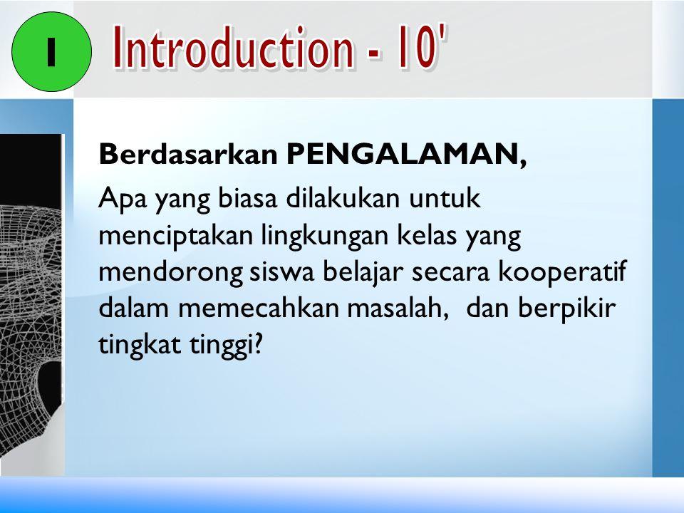 Handout 3.2 Pemajangan dan Pengelolaan Hasil Karya Siswa NoPertanyaanJawaban 1Apa saja karya siswa yang dapat dijadikan sumber belajar.