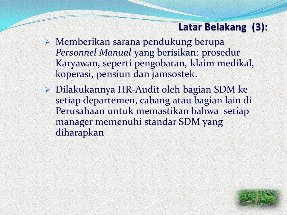  Kiat-kiat untuk mengkondisikan perubahan manager non-SDM sebagai manager SDM:  Perlunya diberikan pelatihan ketenagakerjaan bagi para manager  Pem