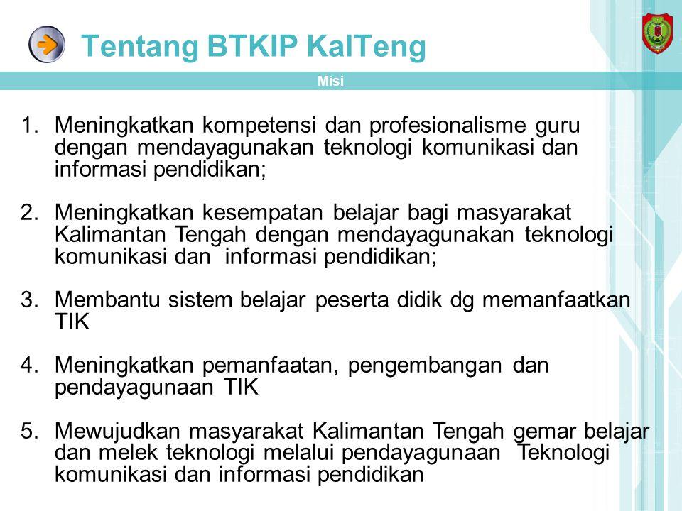 Pengembangan PSB di BTKIP KALTENG Infrastruktur di BTKIP dalam Mendukung PSB di BTKIP Lab Presentase, biasa di pergunakan untuk pelatihan TIK, baik dari Provinsi/Pusat.