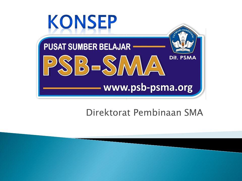  Sekolah PSB adalah SMA yang ditetapkan dan difasilitasi oleh Direktorat Pembinaan SMA sebagai pengelola dan pengembang konten PSB-SMA, melakukan sosialisasi dan koordinasi dengan sekolah Mitra PSB.