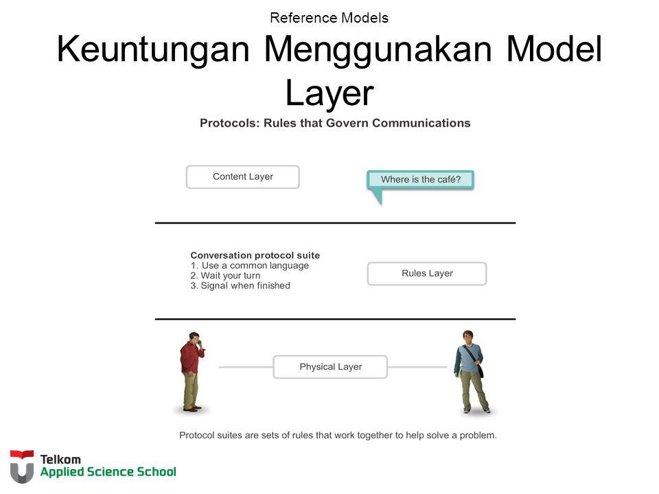 Reference Models Keuntungan Menggunakan Model Layer