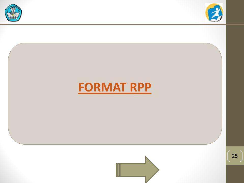 25 FORMAT RPP