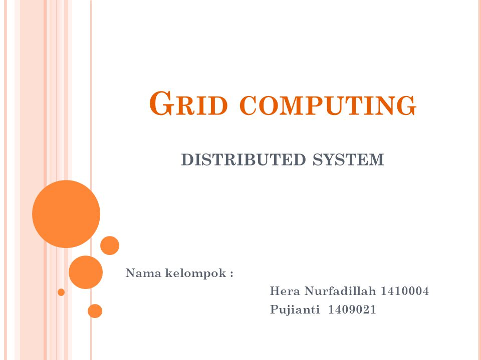 A PA ITU GRID COMPUTING ??.