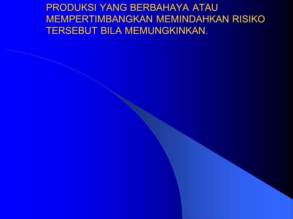 3. RISK REDUCTION (tangani dengan pengendalian) ATAU MENGURANGI RISIKO PADA KASUS YANG RELATIF SERING TERJADI TETAPI AKIBATNYA TIDAK MEMBAHAYAKAN ( TI