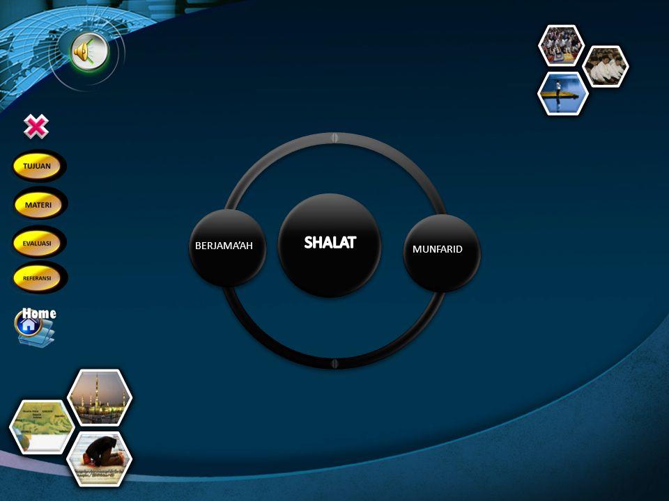 Shalat yang dilakukan sendirian disebut shalat … 6 b.