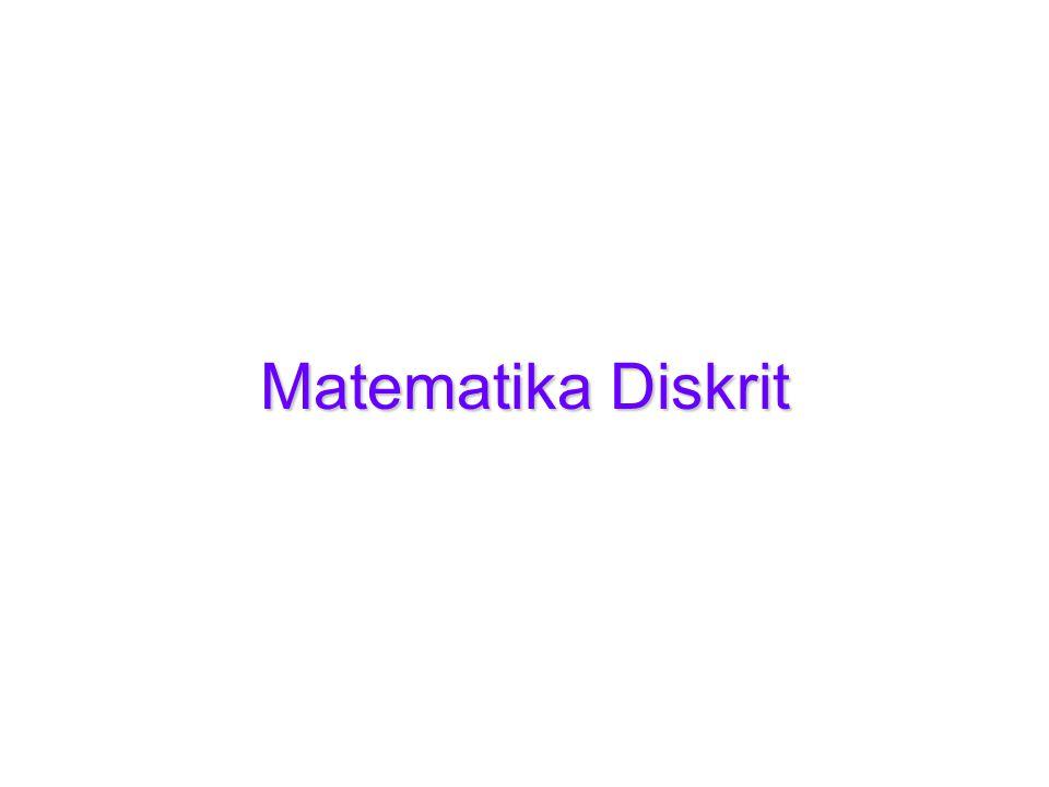 Matematika Diskrit Kuliah-112 y > 5 Nilai kebenaran dari pernyataan tersebut bergantung pada y, tapi nilainya belum ditentukan.