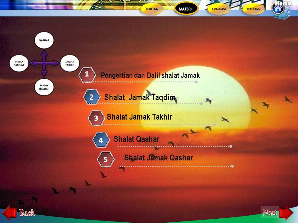 Memahami Tatacara Shalat Jama' dan Qashar 1.Menjelaskan shalat jama' dan qashar 2. Mempraktekkan shalat jama' dan qashar