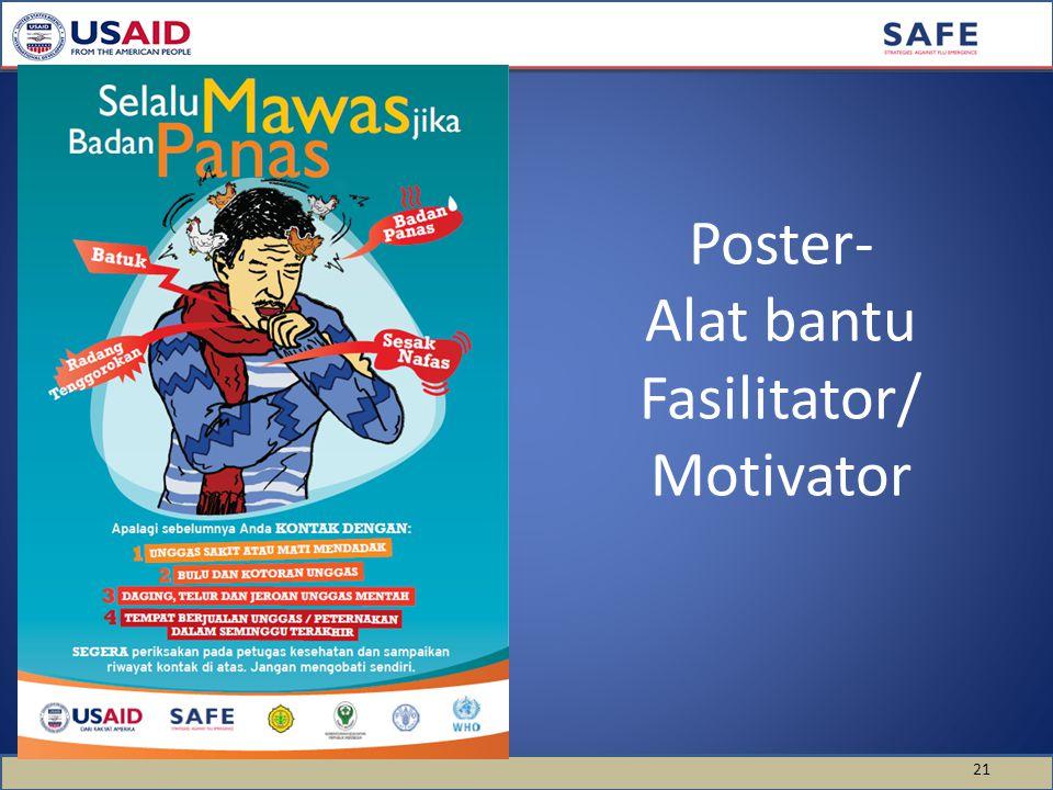Poster- Alat bantu Fasilitator/ Motivator 21