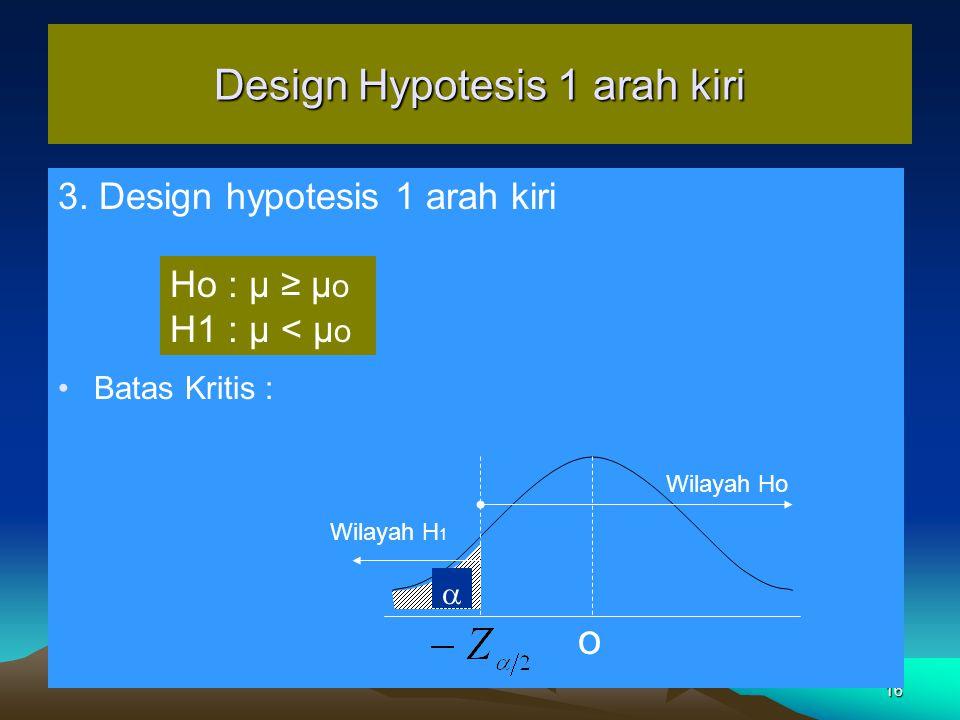 16 Design Hypotesis 1 arah kiri 3.