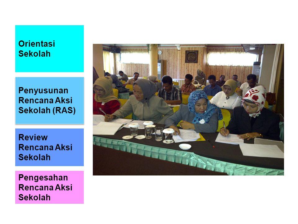 TOT Promosi Kesehatan bagi sanitarian Penguatan Promosi Kesehatan di Sekolah; Takalar - 180 orang guru dari 90 sekolah.