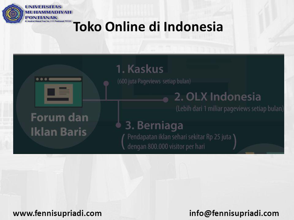 www.fennisupriadi.cominfo@fennisupriadi.com Toko Online di Indonesia