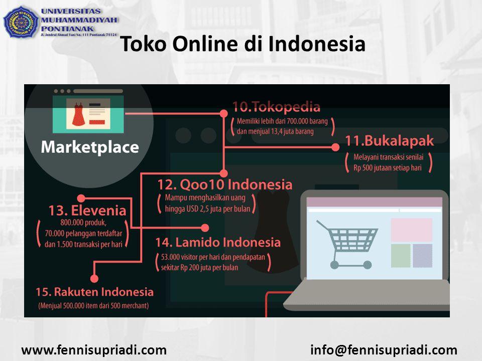 Cara Membuat Analisa SWOT Untuk E-Commerce : Online Shopping www.fennisupriadi.cominfo@fennisupriadi.com