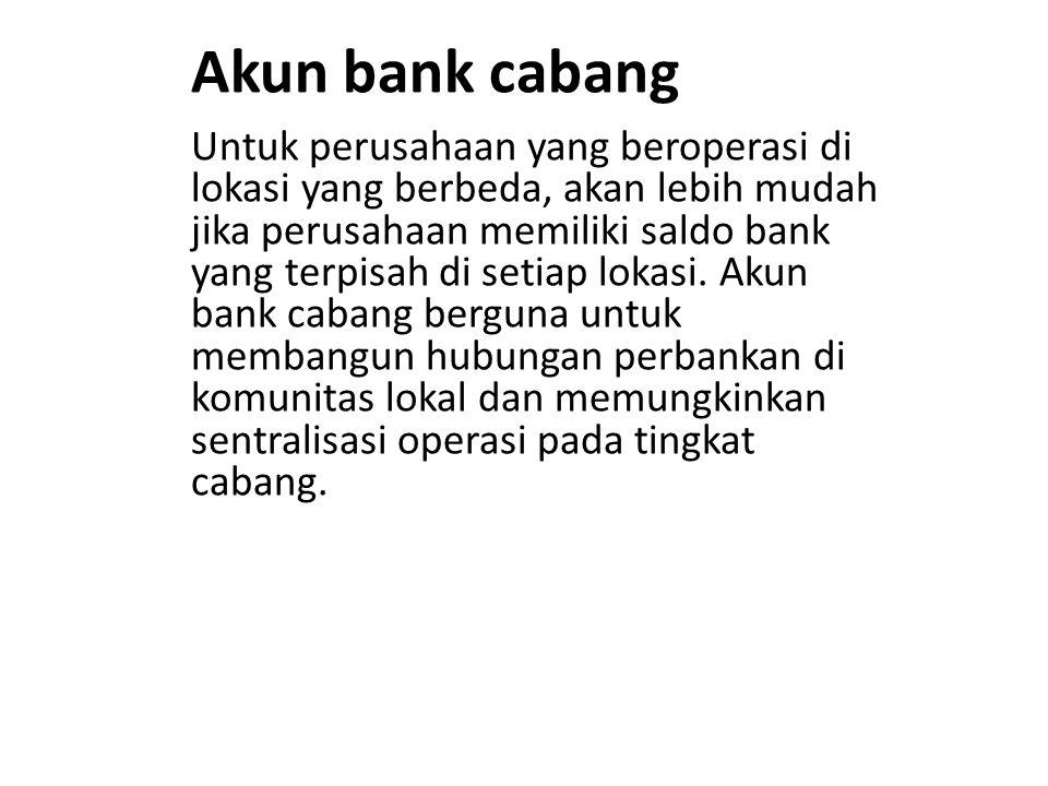 Dana kas kecil imprest Dana kas kecil imprest bukan merupakan rekening bank, tetapi hampir serupa dengan kas di bank dalam hal pencantumannya.