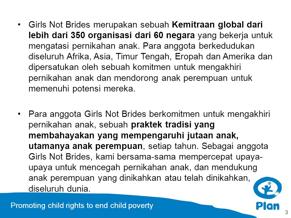 Promoting child rights to end child poverty Ford Foundation Human Dignity Foundation IKEA Foundation John D.