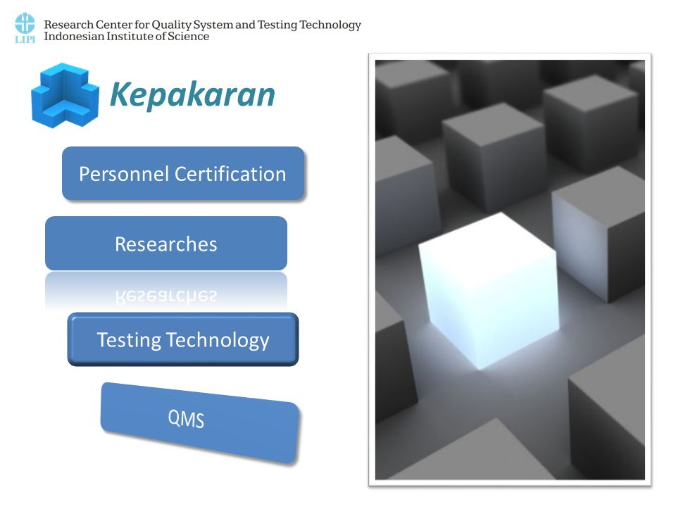 Kepakaran Personnel Certification Testing Technology